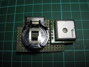 SUP500F GPS とリチウム電池ホルダー