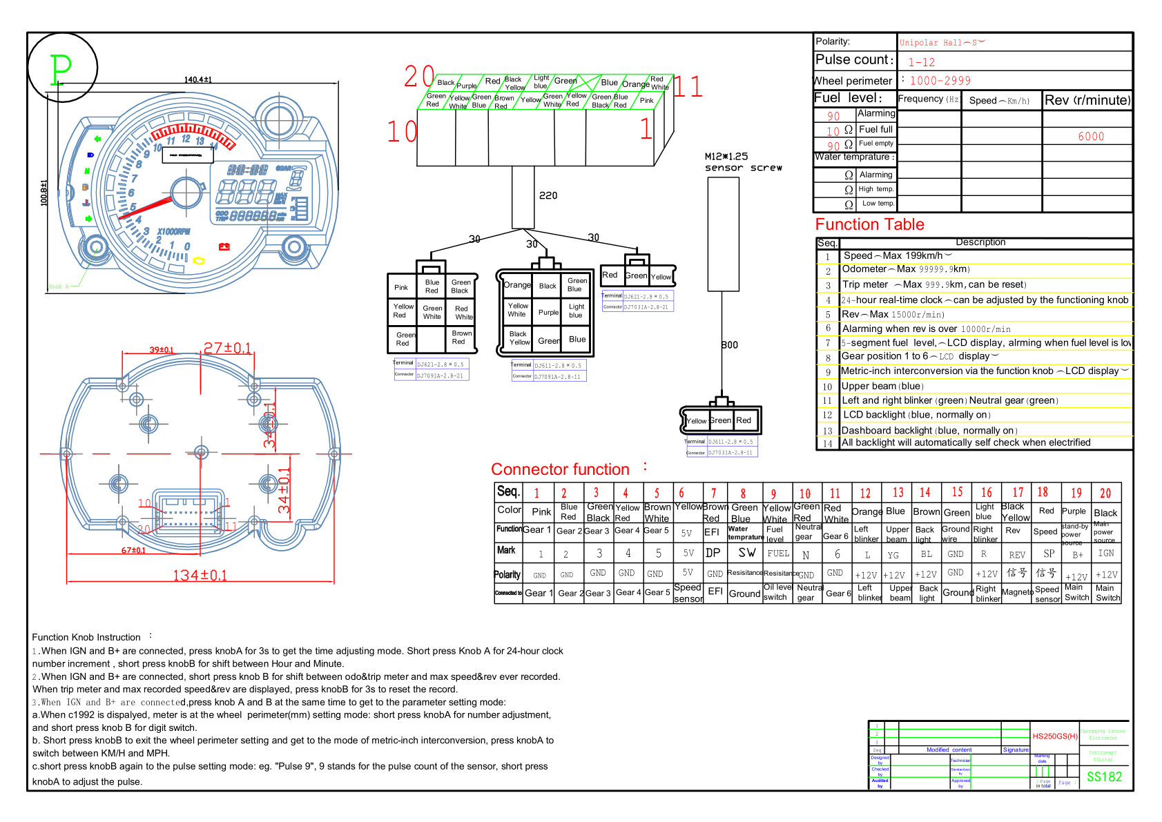 Zx14 Wiring Diagram Great Design Of 2006 Zx 14 Headlight Koso Circuit Maker 2008 7 Pin Harness